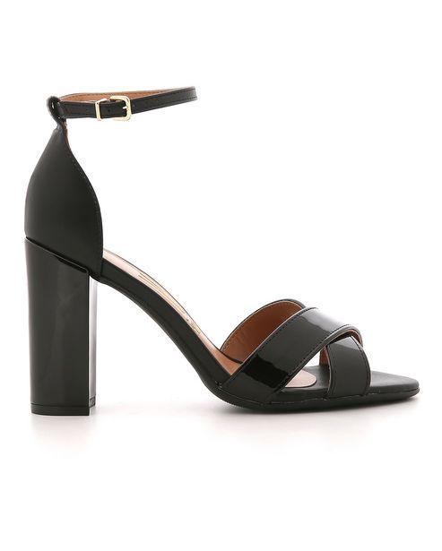 Oferta de Sandália Alta Ankle Strap Vizzano por R$89,9