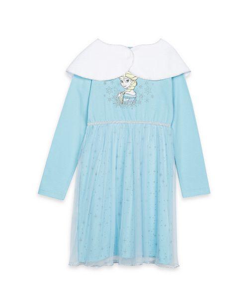 Oferta de Camisola Infantil Frozen - Azul por R$39,9