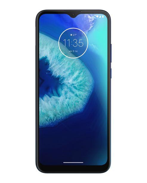 """Oferta de Smartphone Motorola G8 Power Lite Android 9 Tela 6.5"""" 64GB Câmera 16 MP + 2 MP + 2 MP - Azul Navy por R$1399"""