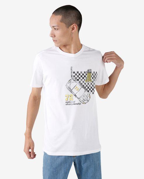 Oferta de Camiseta Manga Curta Championship - Branco por R$19,9