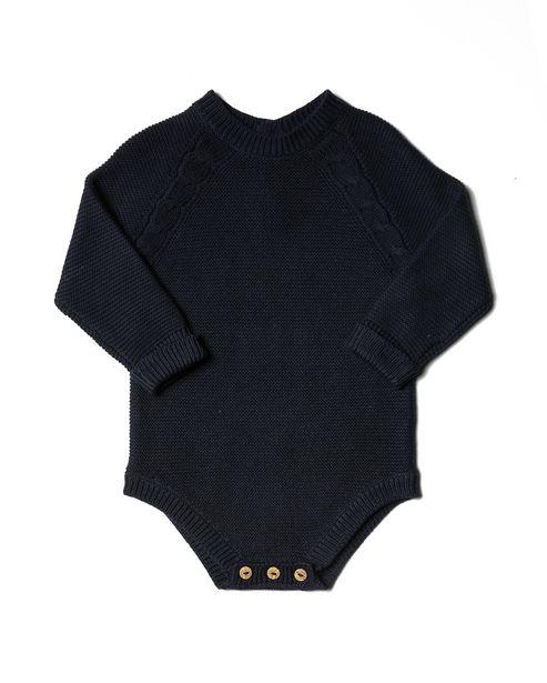 Oferta de Body Tricot - Azul Marinho por R$29,9