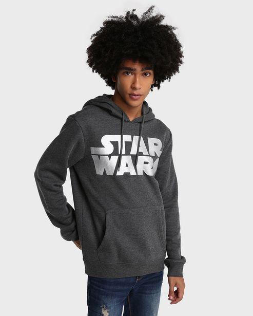 Oferta de Blusa Moletom Star Wars - Cinza Mescla por R$59,9