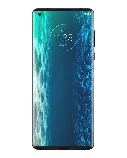 "Oferta de Smartphone Motorola Edge Dual Chip Android 10 Tela 6.7"" 128GB Câmera 64MP +16MP + 8MP - Midnight Red por R$3999"