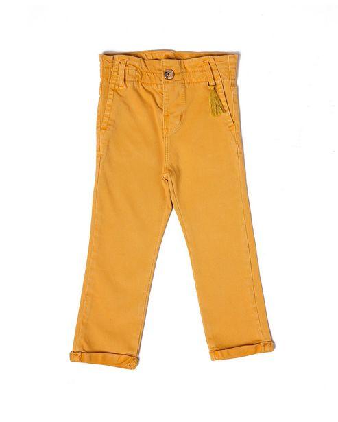 Oferta de Calça Sarja Color Tassel - Amarelo por R$39,9