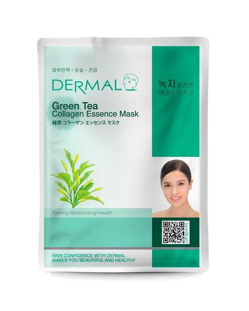 Oferta de Máscara Facial Refrescante Chá Verde Dermal 23g por R$20,9