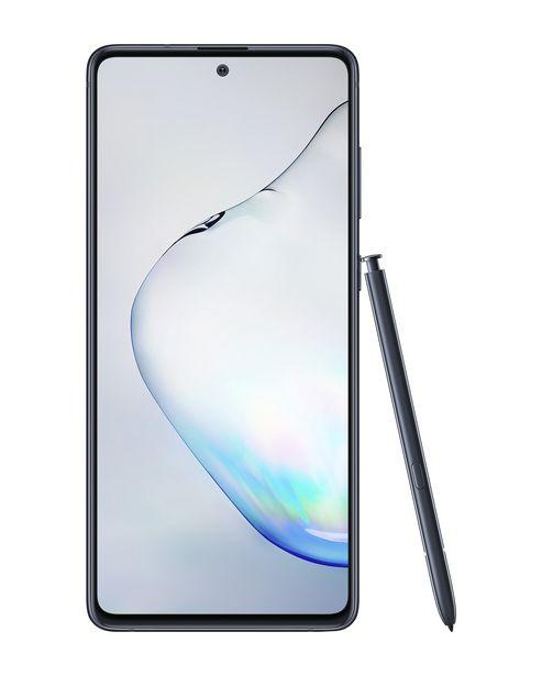 """Oferta de Smartphone Samsung Galaxy Note 10 Lite Dual Chip Android 9.0 Tela 6.7"""" 128GB Câmera Tripla 12MP+16MP + Caneta S-Pen - Preto por R$2399"""