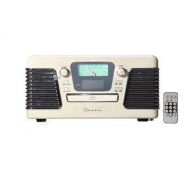Oferta de Rádio Retrô Autorama Branco por R$1800