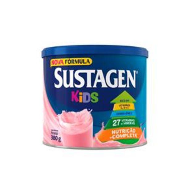 Oferta de Sustagen Kids Morango Lata - 380g por R$18,8