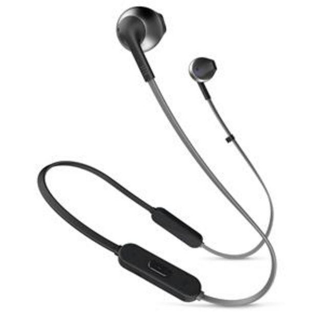 Oferta de Fone de Ouvido Bluetooth T205BT Preto JBL por R$199
