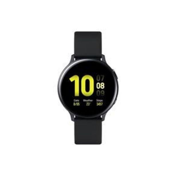 """Oferta de Smartwatch Samsung Galaxy Watch Active2 BT 44MM Preto com Tela Super Amoled de 1.4"""", Bluetooth, Wi-Fi, GPS, NFC e Sensor de Frequência Cardíaca por R$1599"""