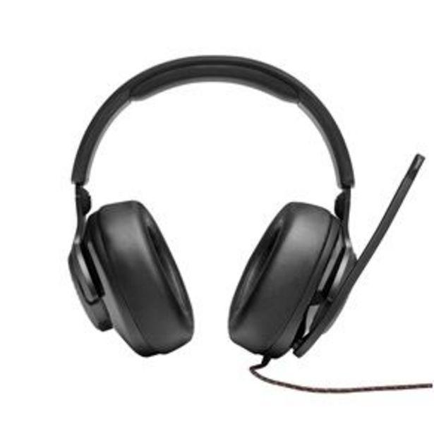 Oferta de Headset Gamer JBL Quantum 300 para Consoles e PC - Black por R$399