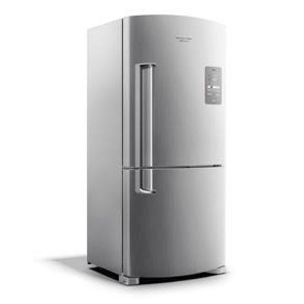 Oferta de Refrigerador Brastemp Side Inverse BRE80AK Frost Free Maxi Evox - 573 L por R$4699
