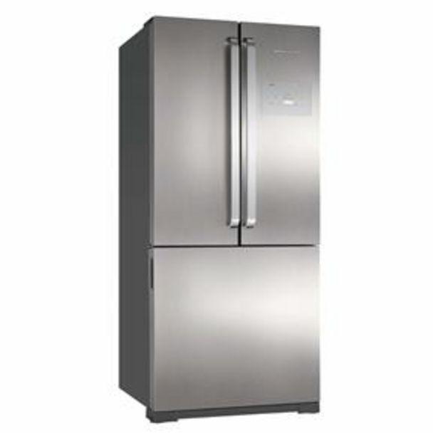 Oferta de Refrigerador Brastemp Side Inverse BRO80AK com Ice Maker Evox - 540L por R$5599