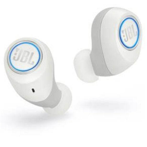 Oferta de Fone de Ouvido Bluetooth JBL Free X - Branco por R$399