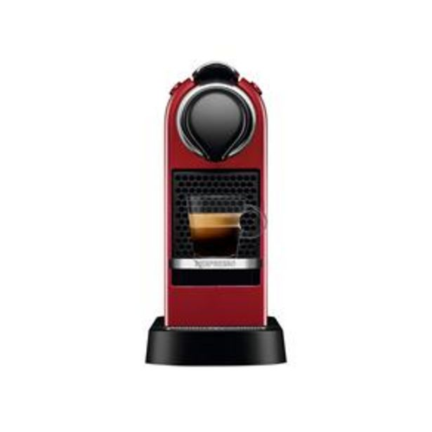 Oferta de Máquina de Café Nespresso Citiz C113 com Kit Boas Vindas – Vermelha por R$529