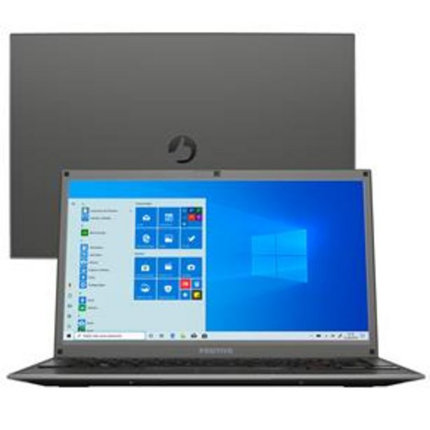"Oferta de Notebook Positivo Core i3-7020U 4GB 128GB SSD Tela 14"" Windows 10 Motion I34128B por R$2399"
