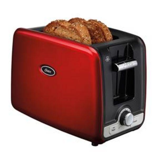 Oferta de Torradeira Oster Square Retro Toaster por R$174,9