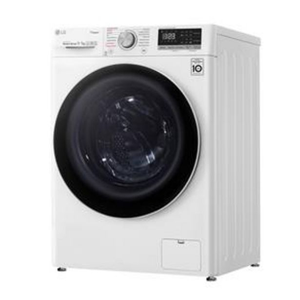 Oferta de Lava e Seca LG CV5011WG4 com Inteligência Artificial AI DD™ Branca - 11Kg por R$3099