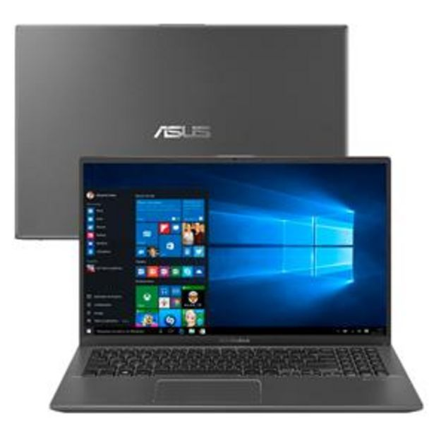 "Oferta de Notebook Asus Core i5-8265U 8GB 1TB Placa de Vídeo 2GB Tela 15.6"" Windows 10 VivoBook X512FB-BR468T por R$3899"