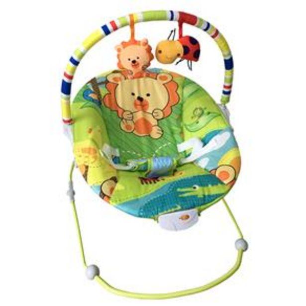 Oferta de Cadeira de Descanso Vibratória Baby Style Leão Poly - 0 a 11kg por R$199,9