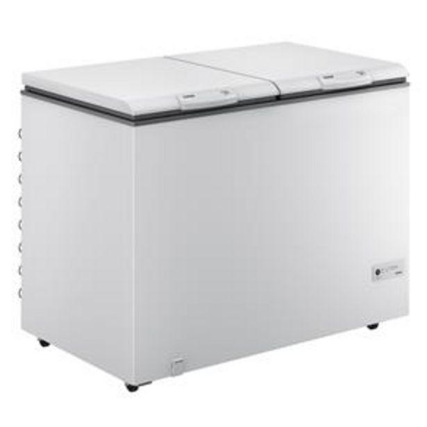 Oferta de Freezer Horizontal Consul CHA31EB 1 Porta Branco - 309L por R$1899,05