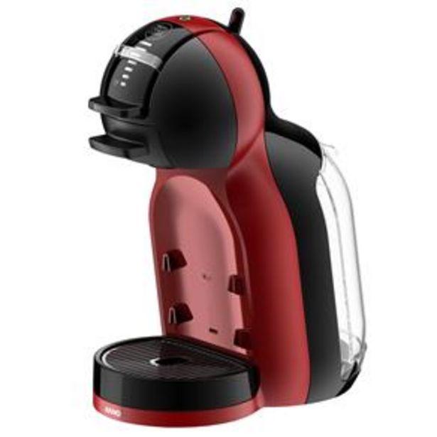 Oferta de Cafeteira Expresso Arno Dolce Gusto Mini Me Automática - Preta/Vermelha por R$399