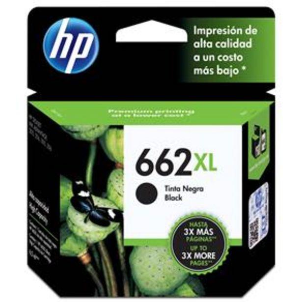 Oferta de Cartucho de Tinta HP 662 XL Preto Alto Rendimento - CZ105AB por R$99