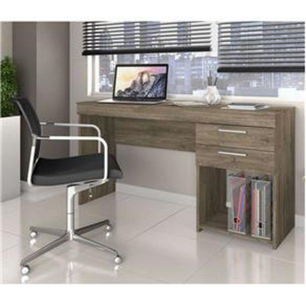 Oferta de Mesa de Escritório Office com 2 Gavetas Notável Móveis por R$149,9
