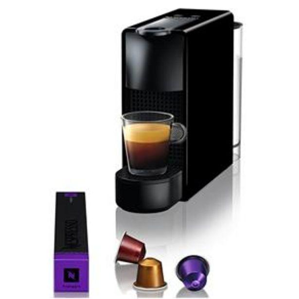 Oferta de Máquina de Café Nespresso Essenza Mini C30 com Kit Boas Vindas - Preta por R$369,9