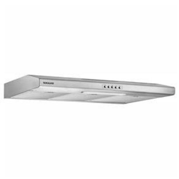 Oferta de Depurador de Ar Suggar DI81IX/ DI82IX Slim Inox - 80cm por R$359