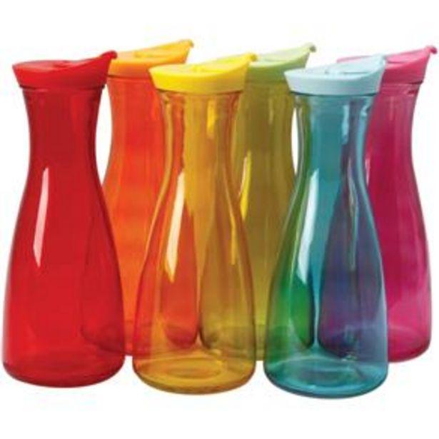 Oferta de Garrafa de Vidro Style Color 900ml - Vitrizi por R$19,99