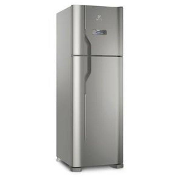 Oferta de Refrigerador Electrolux DFX41 Frost Free com Turbo Congelamento 371L - Inox por R$2499
