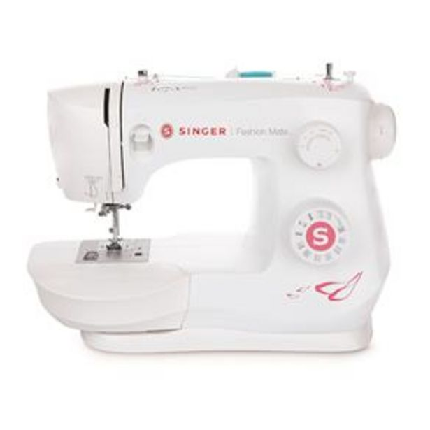 Oferta de Máquina de Costura Singer Doméstica Fashion Mate 3333 - Branca por R$1079,9