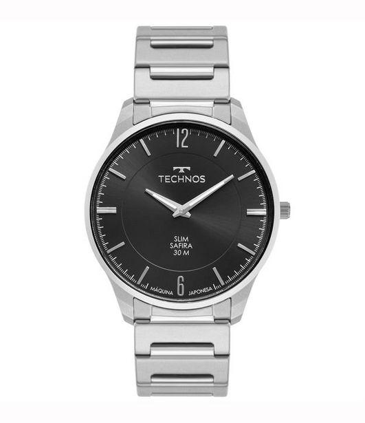 Oferta de Relógio Masculino Technos 9t22aq1p Analógico 30M  por R$329,9
