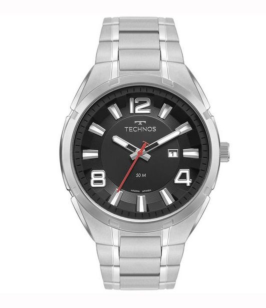 Oferta de Relógio Masculino Technos 2117lcz1p Analógico 50M  por R$299,9
