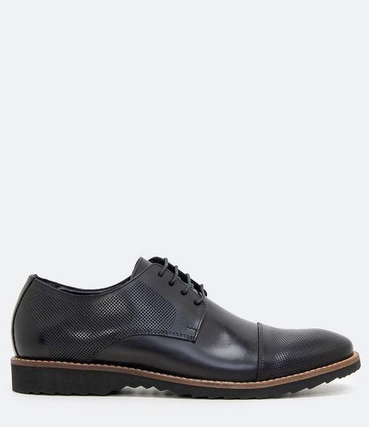 Oferta de Sapato com Cadarço em Couro  por R$199,9