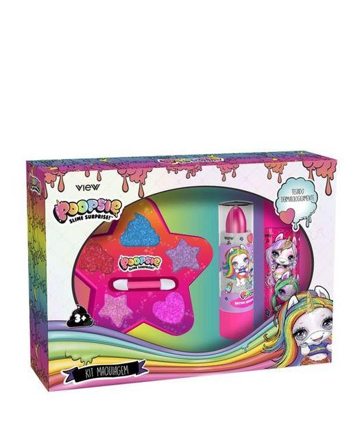 Oferta de Kit maquiagem infantil de Maquiagem Poopsie Surprise View  por R$39,9