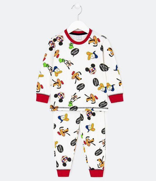 Oferta de Pijama Infantil Estampa Mickey e Amigos - Tam 1 a 4 anos  por R$19,9