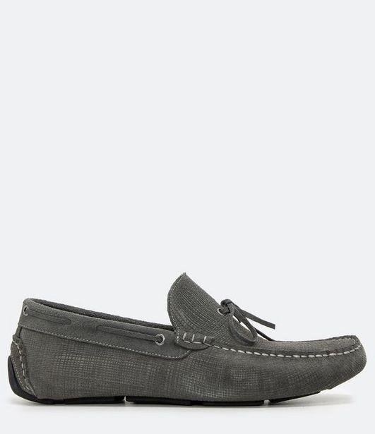 Oferta de Sapato Mocassim Masculino em Couro  por R$149,9
