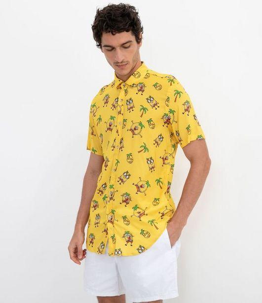 Oferta de Camisa com Estampa Bob Esponja  por R$49,9