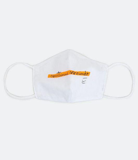 Oferta de Máscara de Proteção Infantil - Tam P  por R$9,9