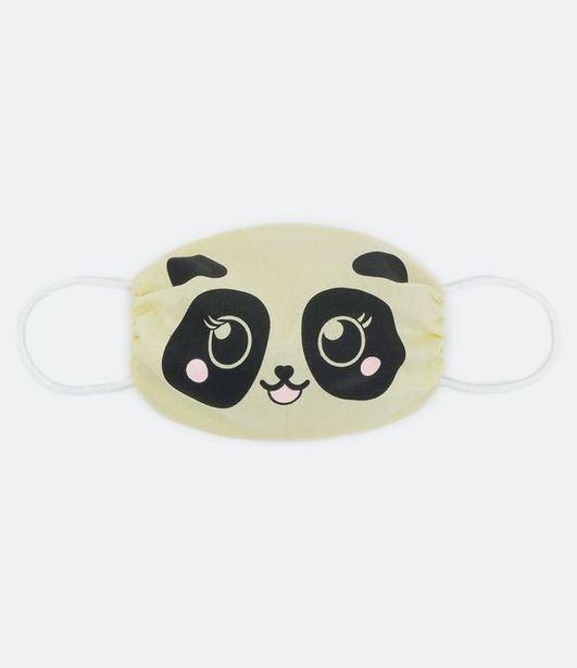 Oferta de Máscara de Proteção Infantil - Tam PP ao P  por R$5,9