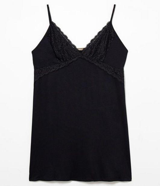 Oferta de Camisola de Alcinha com Renda Curve & Plus Size  por R$59,9