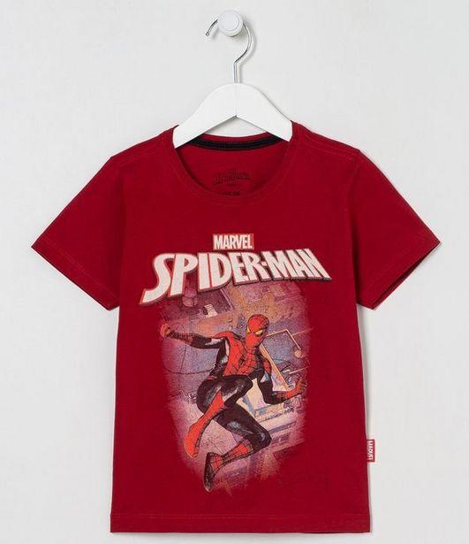 Oferta de Camiseta infantil Homem Aranha - Tam 3 a 10 Anos  por R$19,9