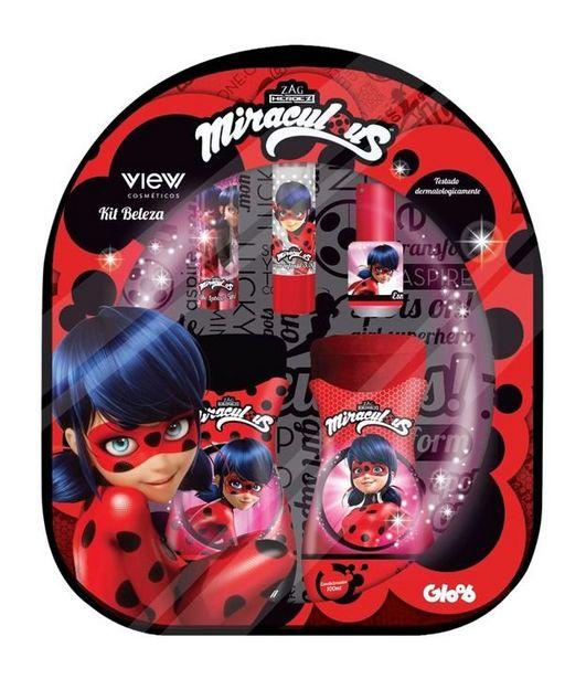 Oferta de Kit Mochila Miraculous Disney  por R$55,9