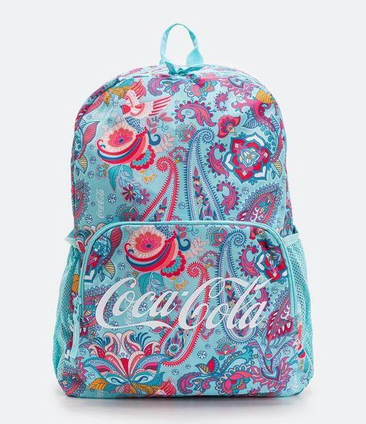 Oferta de Mochila Infantil com Estampa Coca-Cola  por R$99,9