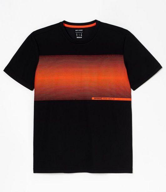 Oferta de Camiseta Esportiva com Estampa  por R$29,9