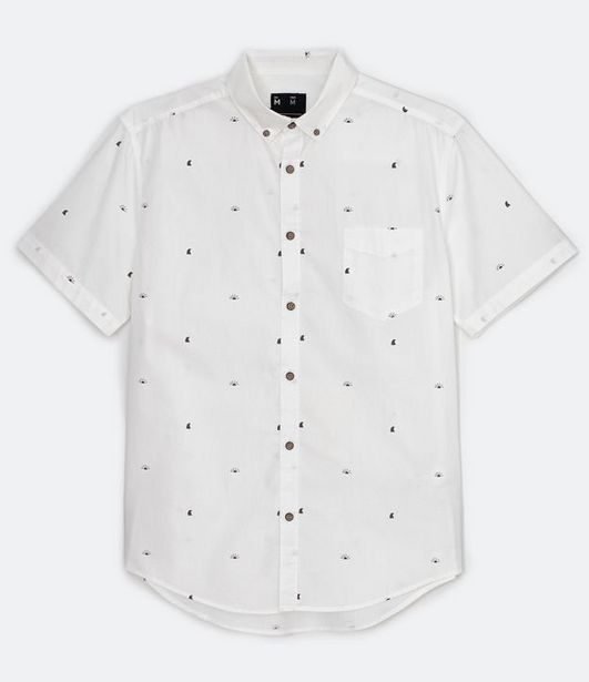 Oferta de Camisa com Estampa Sol e Mar  por R$39,9