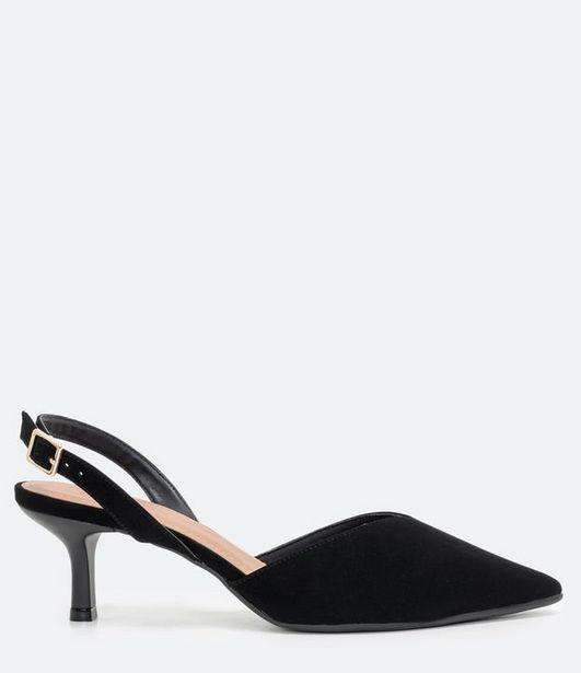 Oferta de Sapato Scarpin Bico e Salto Médio Fino  por R$119,9