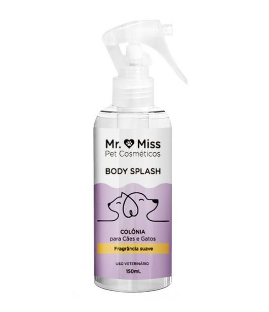 Oferta de Body Splash Mr & Miss Pet Colônia  por R$39,9